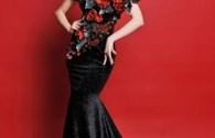 Trương Thái Thùy Dương tự tin khoe đồ dạ hội dự thi Miss Heritage 2017