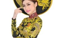 """Trương Thái Thùy Dương đoạt giải """"Best National Custome"""" tại cuộc thi Miss Heritage Global 2017"""