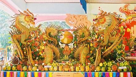 """Ngắm các loại trái cây, củ quả """"khổng lồ"""" sẽ xuất hiện tại Lễ hội Trái cây Nam Bộ"""
