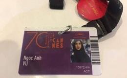 Vũ Ngọc Anh nói gì khi bị cho là gian dối khi dự LHP Cannes 2017?