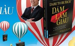 """Tác giả """"Dám làm giàu"""" ra mắt sách trên... khinh khí cầu"""