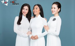 Đông Nhi, Đoan Trang, Phương Linh thướt tha trong tà áo dài trắng