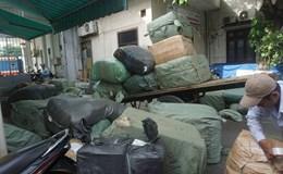 Bắt giữ 10 tấn hàng lậu trên tàu hỏa từ Hà Nội về Đà Nẵng