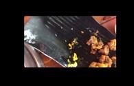 Dọn món sụn gà nướng có giòi, nhà hàng Đà Nẵng bị phạt 4 triệu đồng