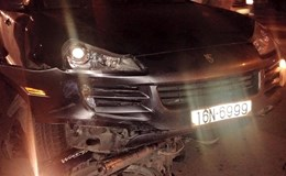 Xe sang Porscher gây tai nạn liên hoàn, gần 10 người bị thương
