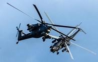 Chiến đấu cơ Nga tung hoành trên bầu trời Mátxcơva