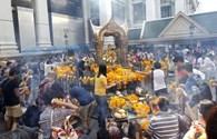 Bất chấp lo ngại đánh bom, đền Erawan mở cửa trở lại