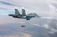 """Loạt video """"đỉnh"""" nhất về chiến dịch không kích của Nga tại Syria"""