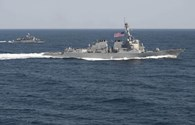 Lý do Mỹ chọn chiến hạm USS Lassen và đá Xu Bi để thị uy
