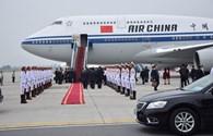 Những hình ảnh đầu tiên Chủ tịch Tập Cận Bình thăm Việt Nam