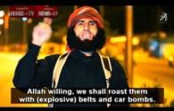 """IS đe dọa """"nướng chín"""" Barack Obama và Francois Hollande"""