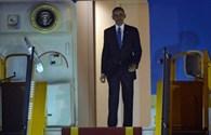 Hình ảnh Tổng thống Obama đến Hà Nội
