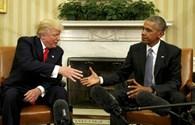 Ông Obama nói lời cuối về ông Trump trước khi rời chức