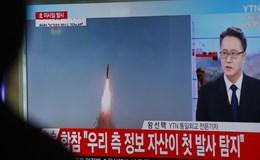 Triều Tiên bắn tên lửa ngay trước cuộc gặp thượng đỉnh Mỹ - Trung