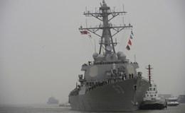 Mỹ đưa khu trục hạm USS Stethem tuần tra Biển Đông