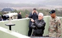 """Phó Tổng thống Pence: """"Mỹ hết kiên nhẫn với Triều Tiên"""""""