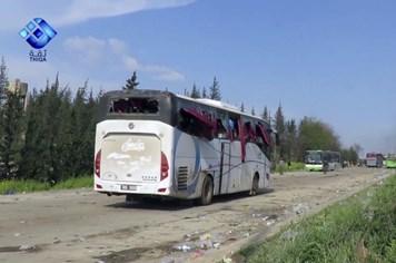 Syria sơ tán dân ồ ạt sau vụ đánh bom kinh hoàng