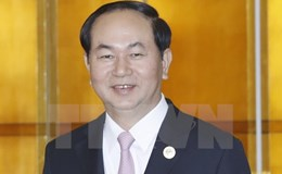 Chủ tịch Nước Trần Đại Quang mời Tổng thống Putin thăm chính thức Việt Nam