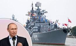 Hàng chục chiến hạm khủng nhất của Nga tập trận phô diễn sức mạnh