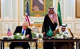 Tổng thống Trump ký thoả thuận 350 tỉ USD với Saudi Arabia