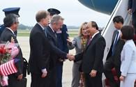 Lễ đón Thủ tướng Nguyễn Xuân Phúc tại thủ đô Washington