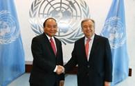 Thủ tướng Nguyễn Xuân Phúc đề nghị LHQ thúc đẩy giải quyết tranh chấp Biển Đông bằng biện pháp hòa bình