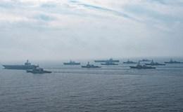 Xem tàu sân bay Mỹ từng hải táng Bin Laden tập trận gần Triều Tiên