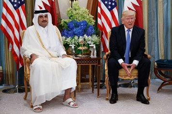Tổng thống Donald Trump ủng hộ cô lập Qatar