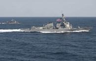 Chỉ trích Doha, Mỹ vẫn điều tàu hải quân đến Qatar tập trận