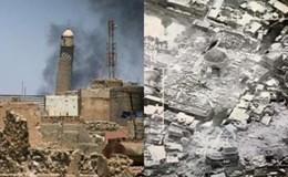 Mosul bị tàn phá nặng nề dưới đòn tấn công của IS