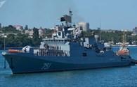 Nga điều khu trục hạm mang tên lửa hành trình Kalibr đến Syria