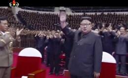 Ông Kim Jong-un ăn mừng chiến công tên lửa liên lục địa đầu tiên