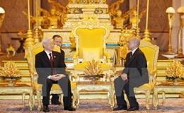 Quốc vương Sihamoni: Việt Nam là người bạn vĩ đại và tin cậy của Campuchia