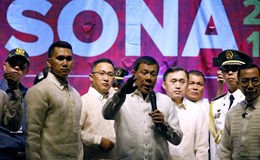Tổng thống Philippines Duterte sẵn sàng tù chung thân để chống ma tuý