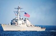 Hải quân Mỹ tìm kiếm thủy thủ mất tích trên Biển Đông