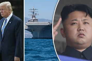 Mỹ điều tận 2 siêu tàu sân bay đến bán đảo Triều Tiên
