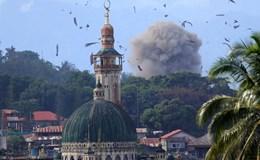 """Mỹ """"ra tay"""" không kích tiêu diệt IS ở Philippines"""
