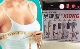 Độc chiêu bán hàng: Khách ngực càng to, giảm giá càng nhiều