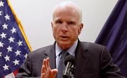 John McCain chỉ trích ông Donald Trump vì lời đe dọa Triều Tiên