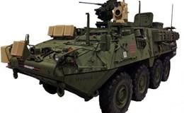 Mỹ thử nghiệm tích hợp vũ khí laser vào xe bọc thép Stryker