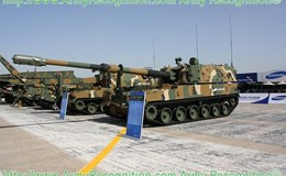 Ấn Độ mua 100 lựu pháo tự hành 155mm của Hàn Quốc