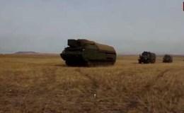 Quân đội Nga tập trận với radar Zoopark-1M định vị pháo đối phương