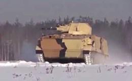 Cận cảnh robot chiến đấu Vikhr của Nga nã đạn