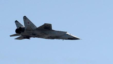 Máy bay chiến đấu siêu âm MiG-31 Nga rơi ở Siberia
