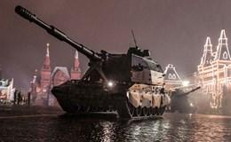Dàn vũ khí Nga tập trung chuẩn bị cho lễ duyệt binh hoành tráng 9-5