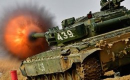 Kịch tính màn đấu tăng của quân đội Nga trước Hội thao Quân sự Quốc tế