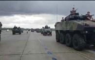Dàn chiến xa Pháp rầm rập chuẩn bị cho lễ duyệt binh Quốc khánh
