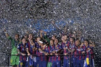 Đánh bại Juventus, Barca trở thành ông vua mới của bóng đá châu Âu