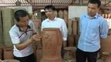 Độc đáo tinh xảo đèn gốm trang trí của làng gốm nức tiếng Phù Lãng