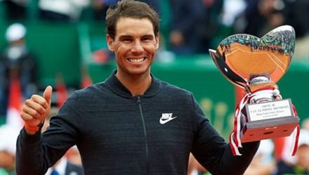 Thắng thuyết phục Vinolas 2 - 0, Nadal giành ngôi vương Monte-Carlo